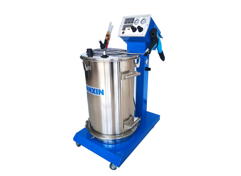 WX-K1 Hopper Feed Manual Powder Coating System