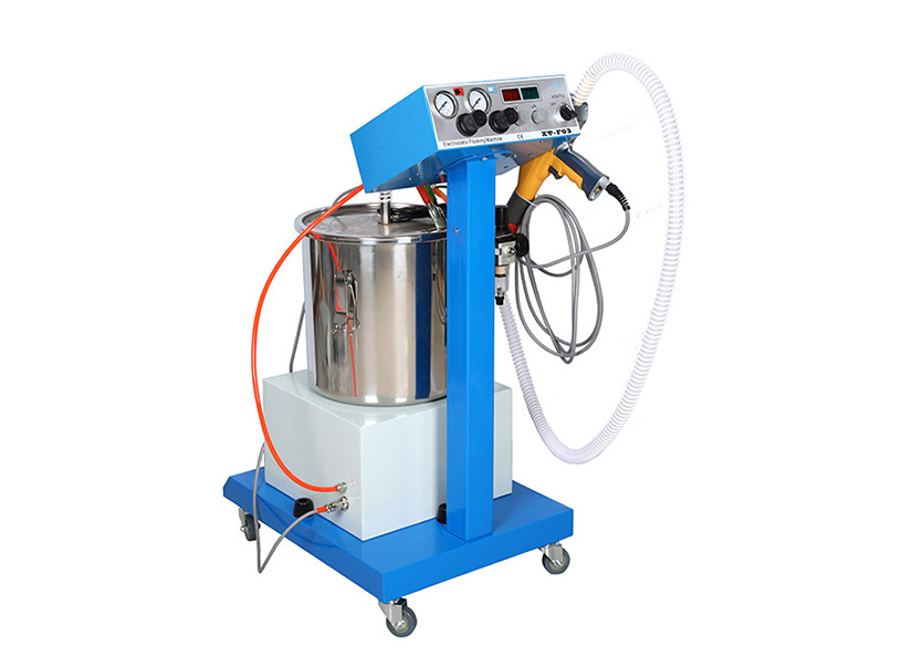 Pile Coating/ Flocking Equipment with Flock Spray Gun XT-F03