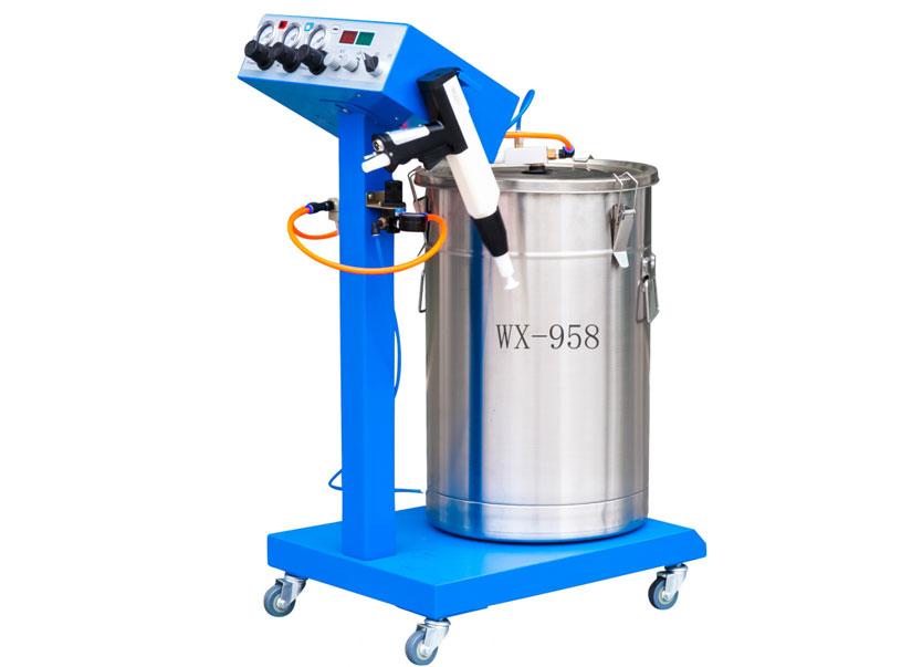 WX-958 Economic Powder Coating Machine