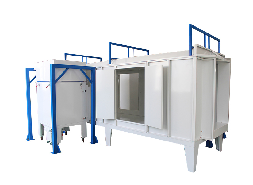 XT- B4500-M  Double-sided Manual Powder Coating Booth