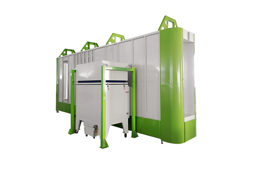XT- B4500-A   Automatic Powder coating booth