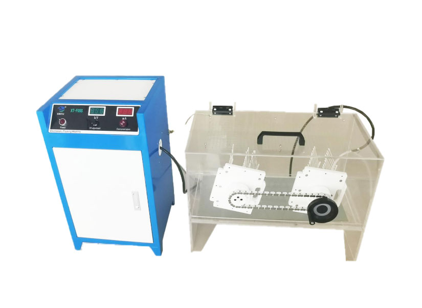 Manual Nylon/Polyester Flocked swabs making Machine  -MODEL: XT-F05S