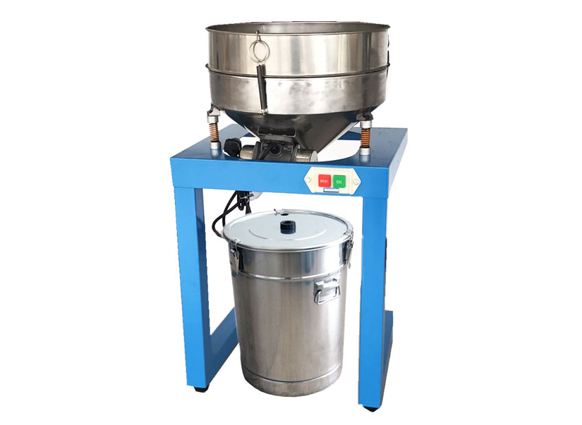 Semi-auto vibratory powder sieve machine for 45l hopper wx-sfj-45
