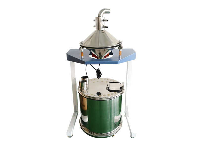 Automatic powder sieving system with round hopper wx-sfj-r250