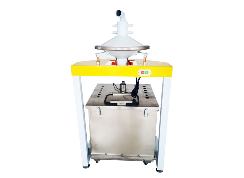 Automatic powder sieve equipment with square hopper  wx-sfj-s250