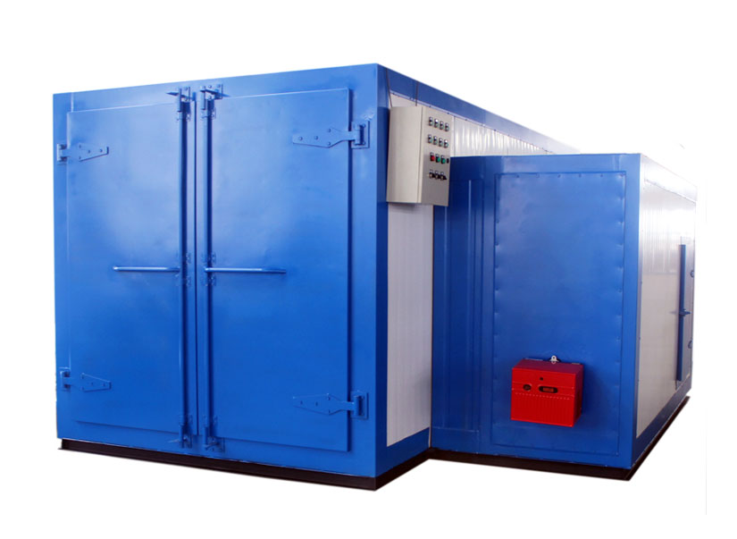 Gas / diesel/ lpg fired powder coating oven